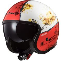 Spitfire Cruiser Open Face Motorcycle Helmet Inner Drop Down Visor Moto Jet, Ls2 Helmets, Open Face Motorcycle Helmets, Prezzo, Bicycle Helmet, Rust, Drop, Lenti, Products