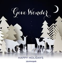 Happy Holidays - The 2013 UncommonGoods Holiday card :)