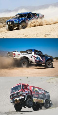 Desert racing love.