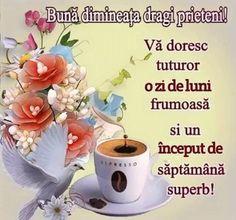 Imagini buni dimineata si o zi frumoasa pentru tine! - BunaDimineataImagini.ro Wednesday Morning, Good Morning, Google, Messages, Tableware, Tea Cups, Religion, Night, Fantasy Landscape
