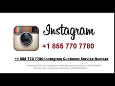 The Instagram customer support phone number is a single point, where you get definite solutions for all your difficulties. Our experts will guide you on numerous Instagram Apps and support you in managing single or multiple Instagram pages. Call Now on Instagram Phone Number @ 1-855-770-7780 (Toll Free)
