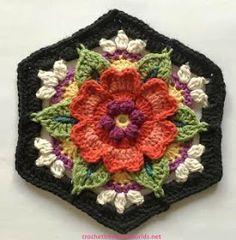 Transcendent Crochet a Solid Granny Square Ideas. Inconceivable Crochet a Solid Granny Square Ideas. Crochet Blocks, Granny Square Crochet Pattern, Crochet Flower Patterns, Crochet Squares, Crochet Motif, Crochet Flowers, Free Crochet, Knitting Patterns, Granny Squares
