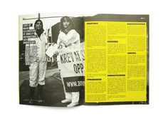 Amnesty International Human Rights Magazine issue 03 by TGIF , via Behance