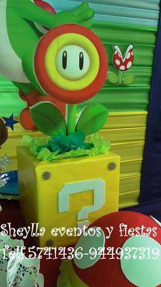 Decoración Mario Bros - Lima Perú, Sheylla eventos y fiestas/facebook. Telf. 5741436- 944937319