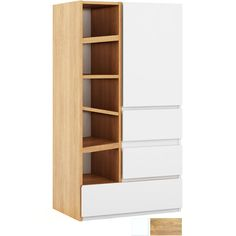 Treehouse Single Wardrobe With Shelves & Drawers