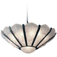 French Art Deco Frosted Glass Chandelier | From a unique collection of antique and modern chandeliers and pendants  at http://www.1stdibs.com/furniture/lighting/chandeliers-pendant-lights/