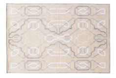 Stark: Contemporary Designs - 6'x9' Oliver Rug, Sand/Gray/White