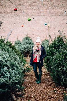 This is the perfect outfit to pick out a tree! #HolidayFashion