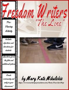 """Recreate one of the most inspiring scenes from the powerful film """"Freedom Writers"""".FREE resource includes objectives, directions, questions,and reflection assignment. Freedom Writers, Fun Classroom Activities, Classroom Ideas, High School Classroom, Future Classroom, Line Game, Cvc Words, Teaching Reading, Teaching Ideas"""