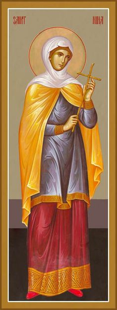 Aγ.ΝΙΝΑ Ισαπόστολος  (296 - 335) - 14 Ιανουαρίου St Nina of Georgia