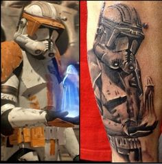 My new commander Cody tattoo