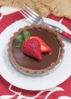 Double Chocolate Tartlets | An elegant chocolate dessert