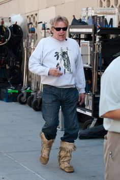 Gary Busey - Moccasin Boots