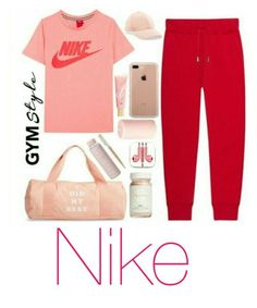 """""""nike"""" by slayoueen ❤ liked on Polyvore"""