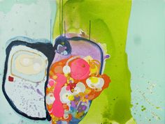"Saatchi Online Artist Claire Desjardins; Painting, ""Mars Venus"" #art"