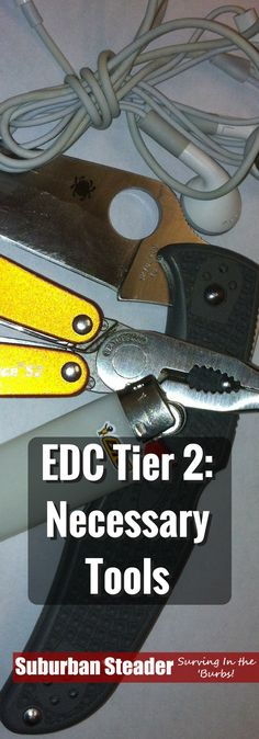 EDC Tier 2 items are