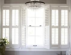 French Door Plantation Shutters