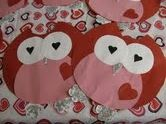 easy and cute for front of valentine boxes!