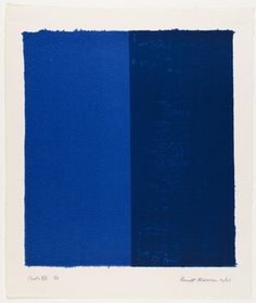 Barnett #Newman. Canto VIII from 18 Cantos. 1963. #AbEx AbstractExpressionism