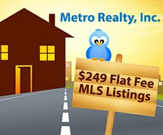 """Save thousands in commission when selling your home with Flat Fee MLS.  List on the Illinois MLS for a Flat Fee.  Retain the right to sell your home """"by owner"""".  Only pay a commission to a buyers broker if they procure a buyer.  Get maximum exposure for your property."""