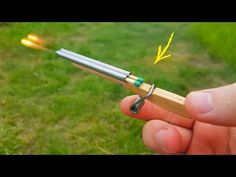 In today tutorial of DIY, you will see how to make an amazing homemade double barrel rifle. You only need very few stuff for build this mini . Woodworking For Kids, Woodworking Joints, Woodworking Supplies, Woodworking Workshop, Woodworking Techniques, Woodworking Crafts, Woodworking Nightstand, Woodworking Garage, Youtube Woodworking