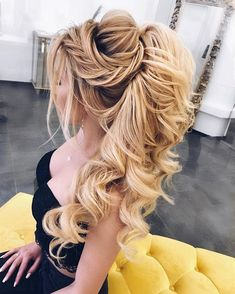 Finding just the right wedding hair for your wedding day is no small task but we're about to make things a little bit easier.From soft and romantic, to classic with modern twist...bridal updo hairstyles,messy updo wedding hairstyles