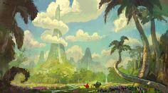 Angry Birds Movie! Agora em destaque, artes de John Nevarez | THECAB - The Concept Art Blog