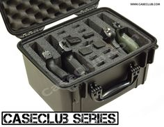 TSA Approved Hand Gun Cases | Pistol Alamo Case | Multi Handgun Case by Case Club