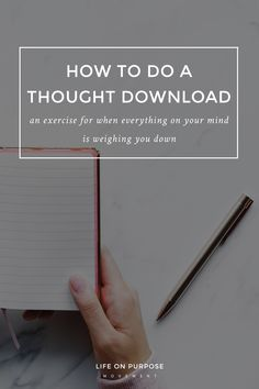 How to Do a Thought Download (And Why You Might Want to)