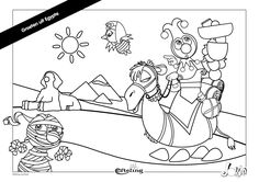 Jokie in Egypte. Efteling kleurplaat. Adult Coloring, Coloring Pages, Mini Me, Aladdin, Snoopy, Printables, Creative, Fun, Fictional Characters