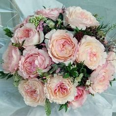"David Austin English Rose Bouquet ""Keira"". Gorgeous cottage garden flowers!"