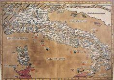 mappa geografica