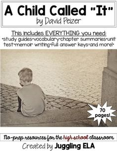a literary analysis of a child called it by dave pelzer A child called it study guide contains a biography of dave pelzer, literature essays, quiz questions, major themes, characters, and a full summary and analysis.