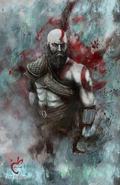 Download God Of War 4 Kratos Hd Wallpaper Fighting 1920x1080 Video
