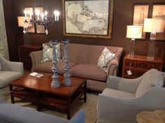 The Antiquarian Shop has some of Hickory Chair's Furniture on display; like the 2809-84 Wakeley Tufted Sofa. http://www.hickorychair.com/Furniture/ItemDetail.aspx?ItemID=506526