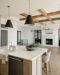 Kitchen Interior, Kitchen Decor, Kitchen Design, Kitchen Ideas, Kitchen Display, Kitchen Colors, The Home Edit, Transitional Living Rooms, New Home Designs