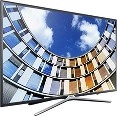 Buy Samsung LED Full HD Smart TV, with TVPlus, Dark Grey from our View All TVs range at John Lewis & Partners. Free Delivery on orders over Dolby Digital, Audio Digital, Smart Tv Samsung, Hd Samsung, Dvb T2, Internet Tv, Smartwatch, Curved Led Tv, Quad