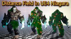 Distance Field in UE4.26 Niagara Distance, Long Distance, Long Distance Relationships