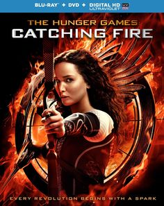 Woo Hoo! Catching Fire is on its way to DVD and  blu-ray disc! Find out when by clicking on the picture.  #catchingfire #hungergames #bluray