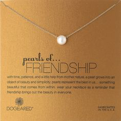 Pearls of Friendship Necklace - Friendship Day gifts for friends