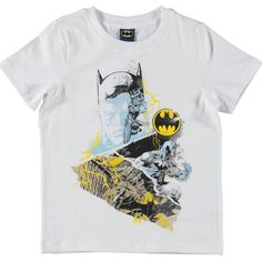 Name It Batman shirt (va.110) (S15 / Batman / bright white) | Kixx Online
