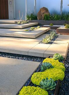 Landscaping Ideas for the Front Yard - Better Homes and Gardens Get our best landscaping ideas for your backyard and front yard, including landscaping design, garden ideas, flowers, and garden design. Modern Landscape Design, Modern Landscaping, Contemporary Landscape, Front Yard Landscaping, Landscape Architecture, Landscaping Ideas, Landscaping Software, Modern Backyard, Pavers Ideas