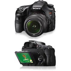 Americanas Câmera Digital Sony DSLR Alpha A57 16.1 MP Lentes Intercambiáveis SAL18-55mm Preta - R$ 1398,90