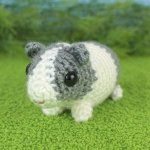 Baby Guinea Pigs - four amigurumi crochet patterns