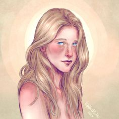 Upthehillart- Ariana Dumbledore