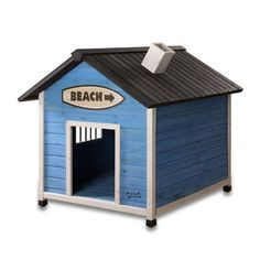 Pet Squeak Beach Dog House beach house decor for our furry friends :) Outdoor Dog, Indoor Outdoor, Pet Dogs, Dogs And Puppies, Plastic Dog House, Wood Dog House, Petit Basset Griffon Vendeen, The Perfect Dog, Dog Beach