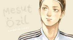 Mesut Ozil by scarlet-xx on DeviantArt