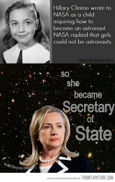 You might not agree with all of her political beliefs, but she is one strong woman #realtalk