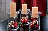 Pretty idea to spruce up candles - from PartyLite.       www.partylite.biz/candlesbydeanna