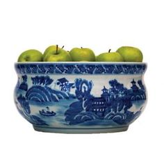 Blue and White Bowl : Biscuit Home